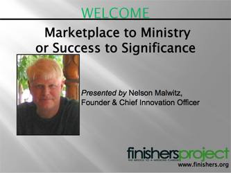 Marketplace to Ministry PowerPoint Presentation Download