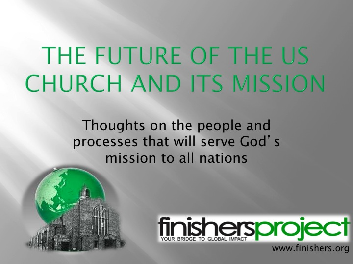 The Future of the U.S. Church and Its Mission
